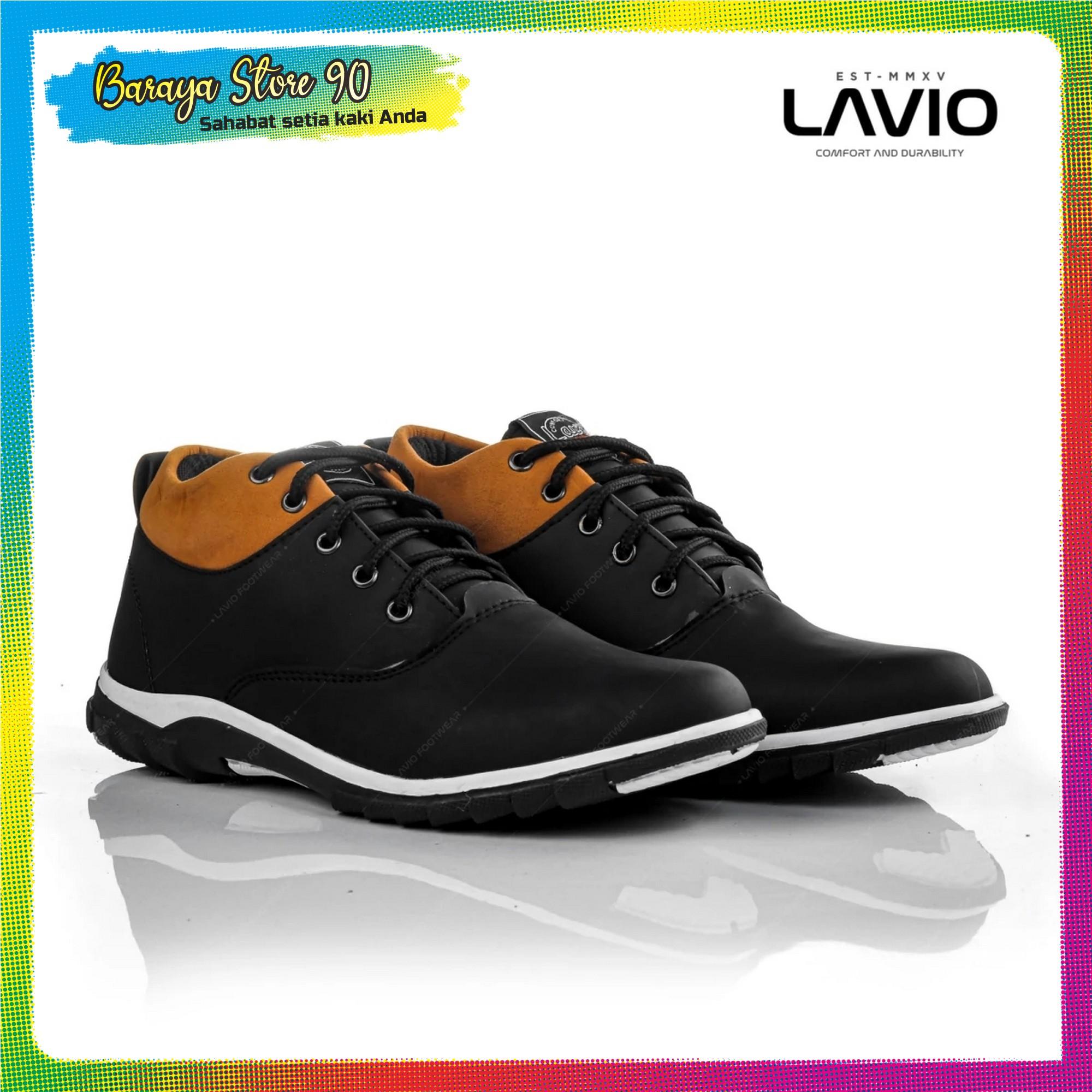 sepatu casual formal pria sneakers anak muda keren  original lavio mozka bandung proses handmade cocok untuk kantoran kuliah