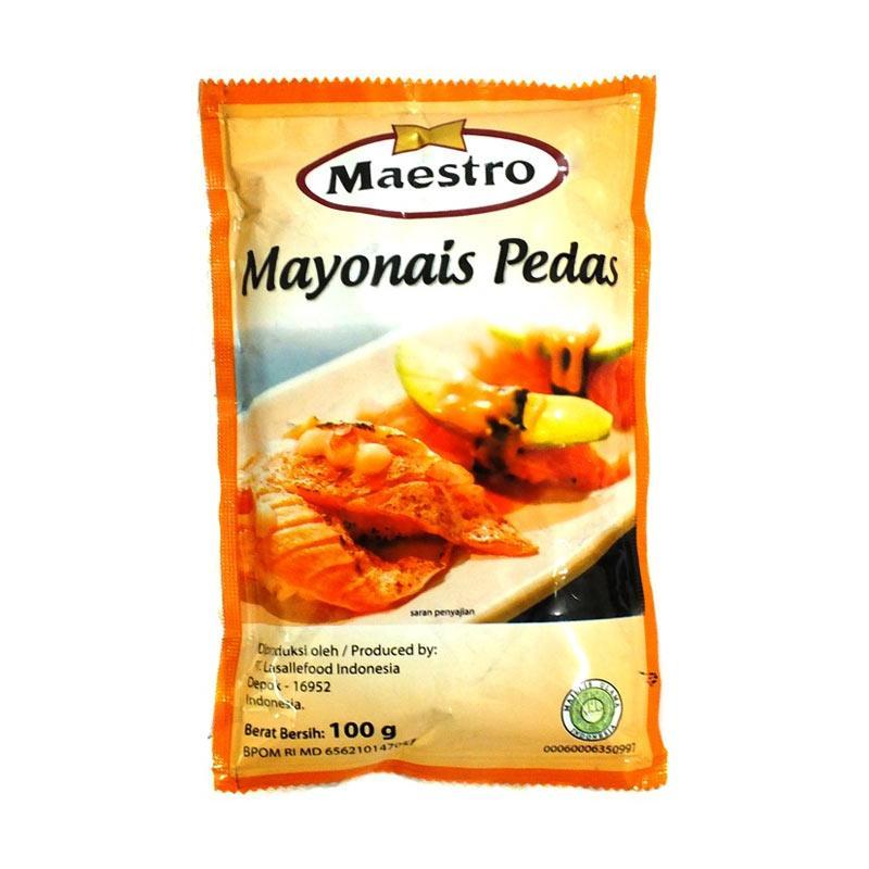 mayonnaise maestro pedas sachet 100g