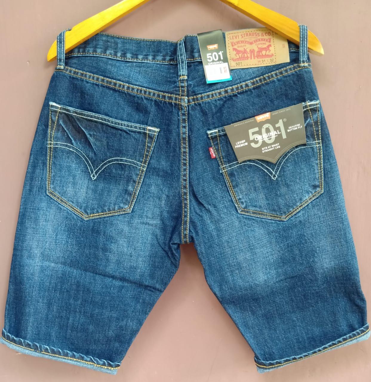 has celana levis 501 // celana pendek levis 501 pria  denim