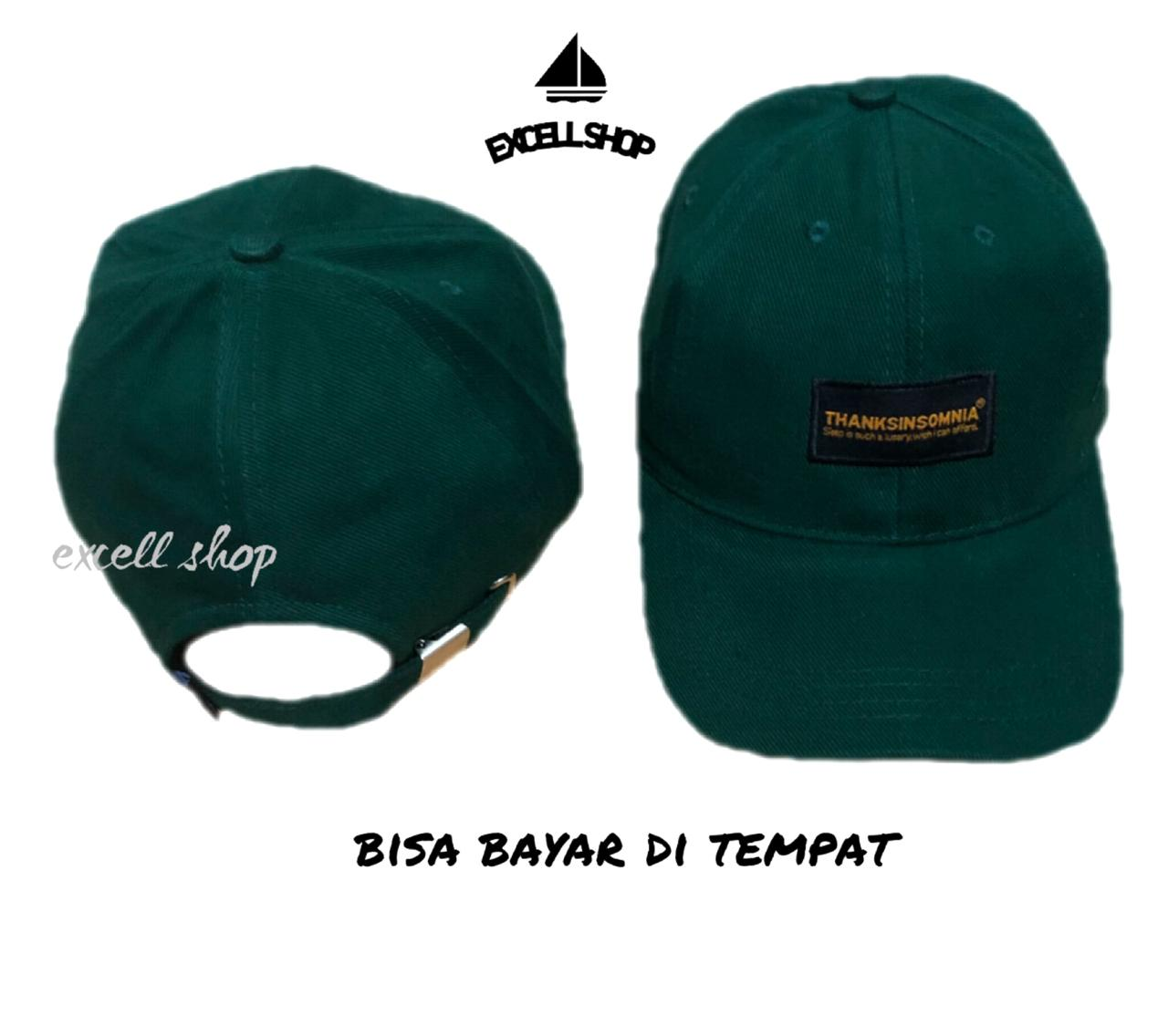 topi baseball bordir thanksinsomnia original new model/topi distro keren