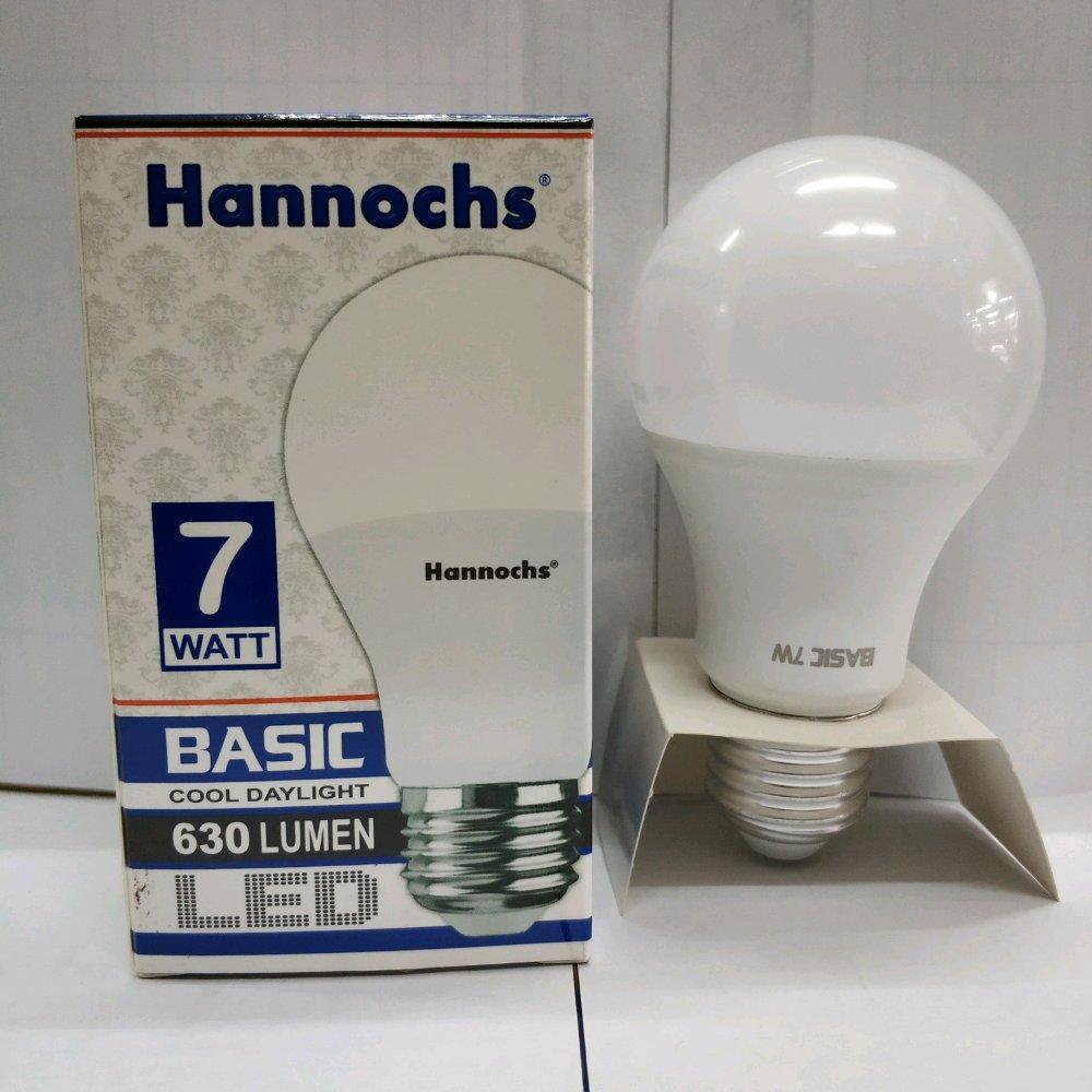 ... Lampu LED Hannochs Basic 7w 7 Watt Putih - Bohlam Hemat Listrik - 5