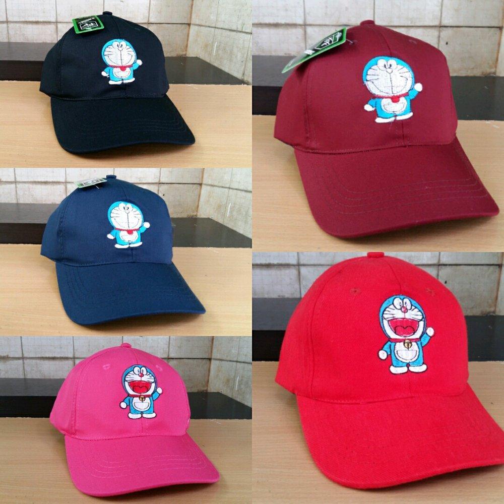 Topi Distro Topi Pria  Wanita BasebalL Doraemon Best Seller Quality 01c06db8b3