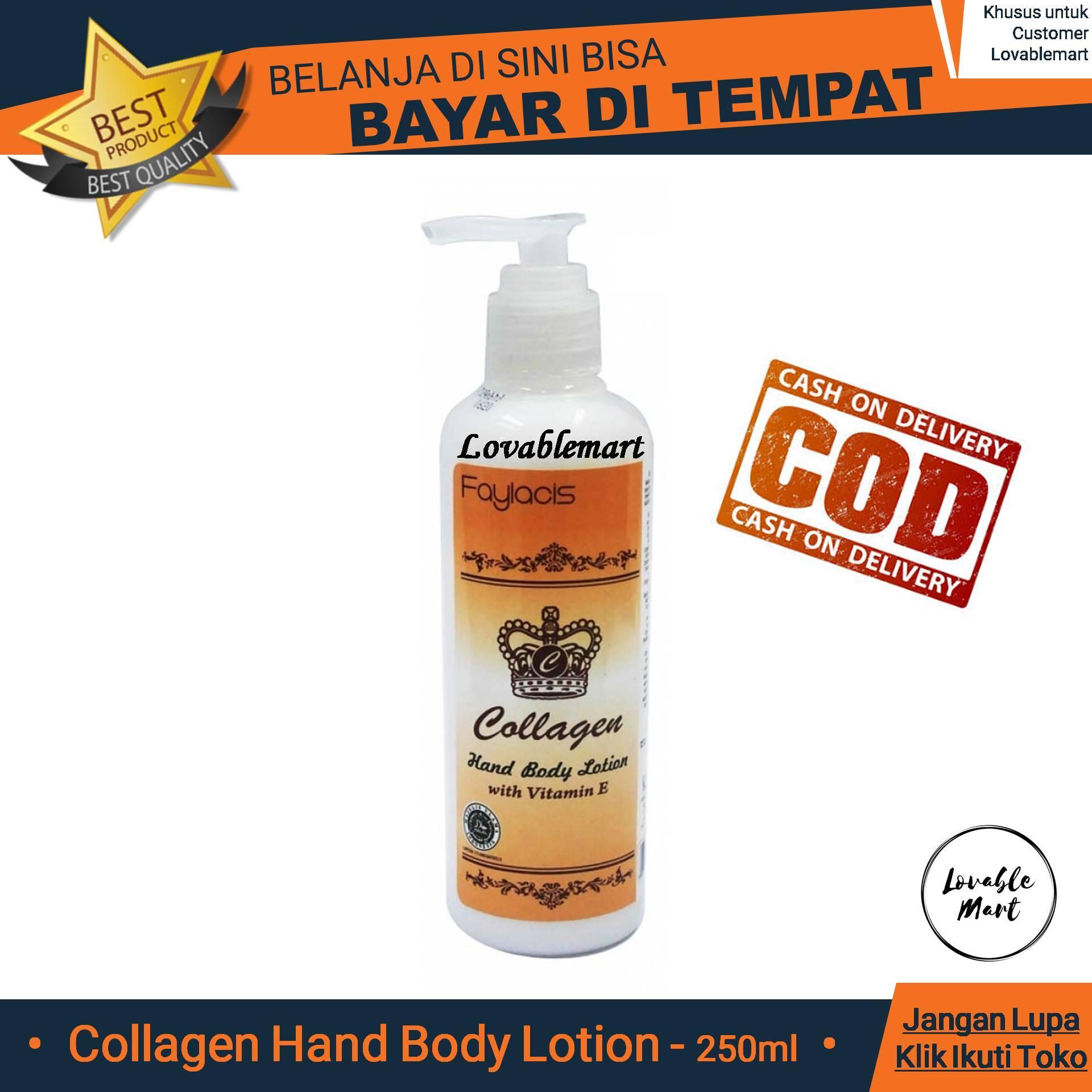 Collagen Hand Body Lotion 250ml - @Lovablemart Bisa COD Bayar di Tempat - Faylacis Colagen