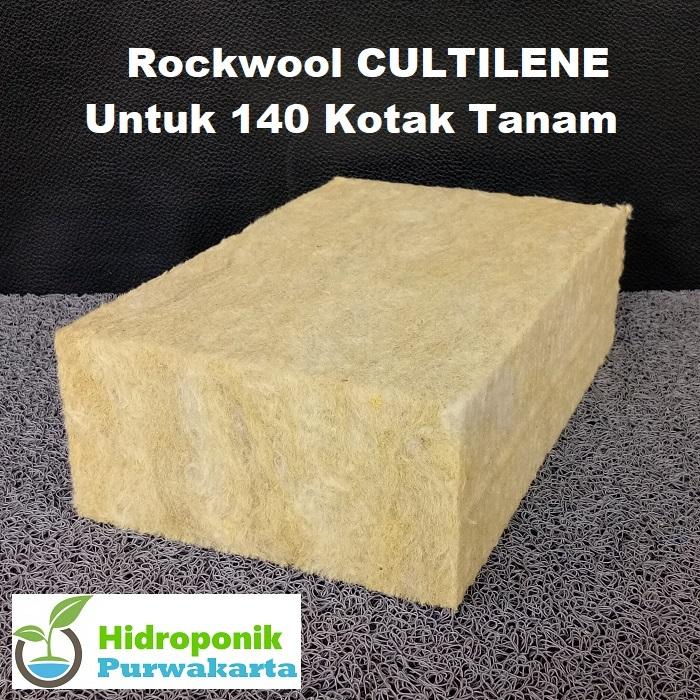rockwool hidroponik  untuk 140 kotak tanam – 20 % slab  eropa. media hidroponik terbaik saat ini yang dirancang khusus untuk hidroponik mudah menyerap menyimpan air.
