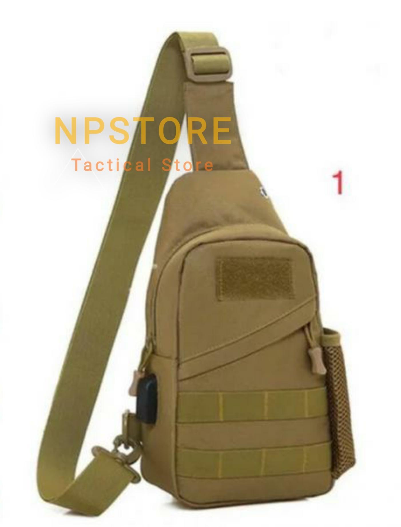 tas pinggang army tactical