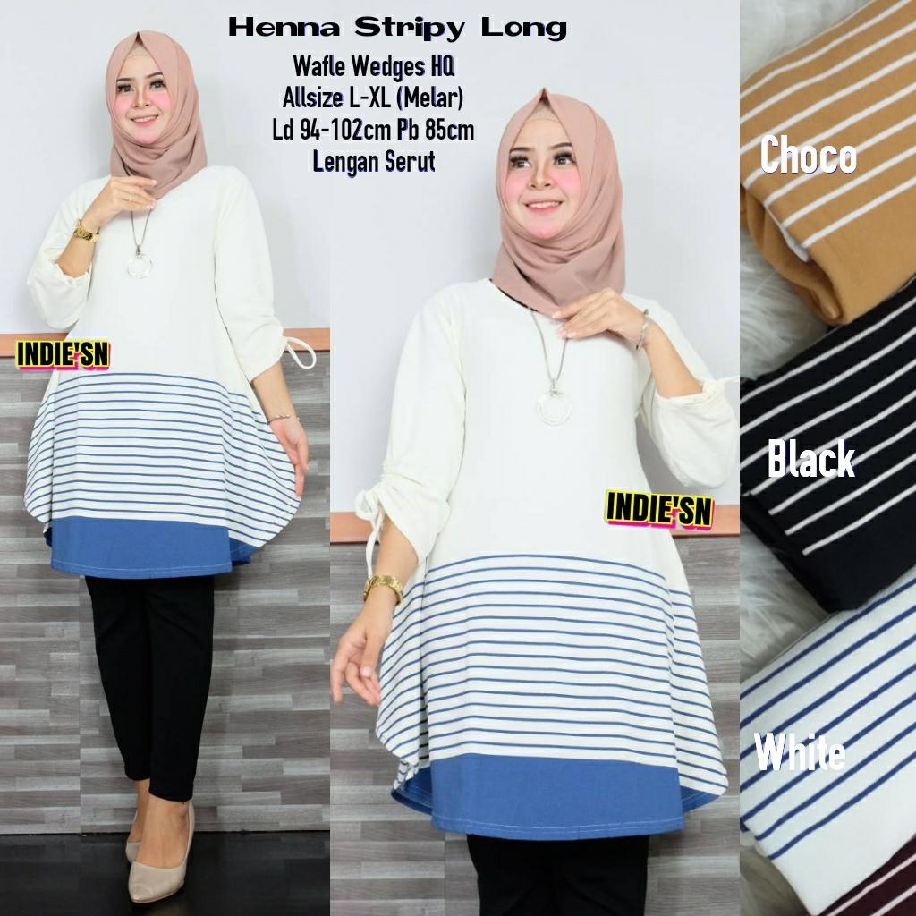 Review Adara Stripy Baju Tunik Modern Tunik Modern Baju Tunik Cantik