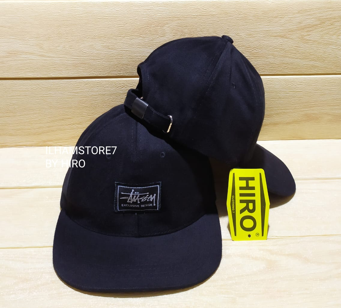 [cod]topi distro pria/topi snapback bordir stussy original new model/topi distro keren