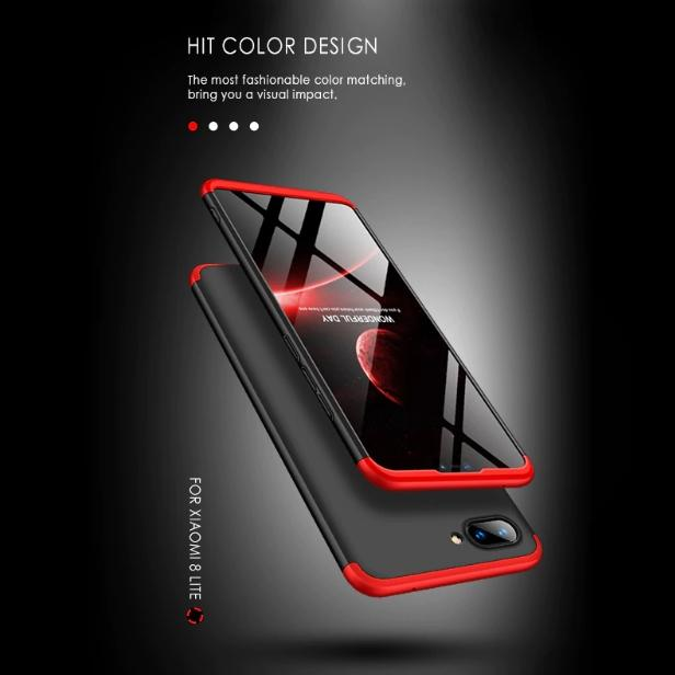 reputable site 7da09 3c655 Review Cover Paradise Xiaomi Mi 8 Lite Armor 360 Full Cover Baby ...