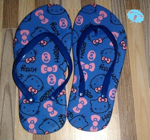 sandal anak-anak lucu ikan nemo merah