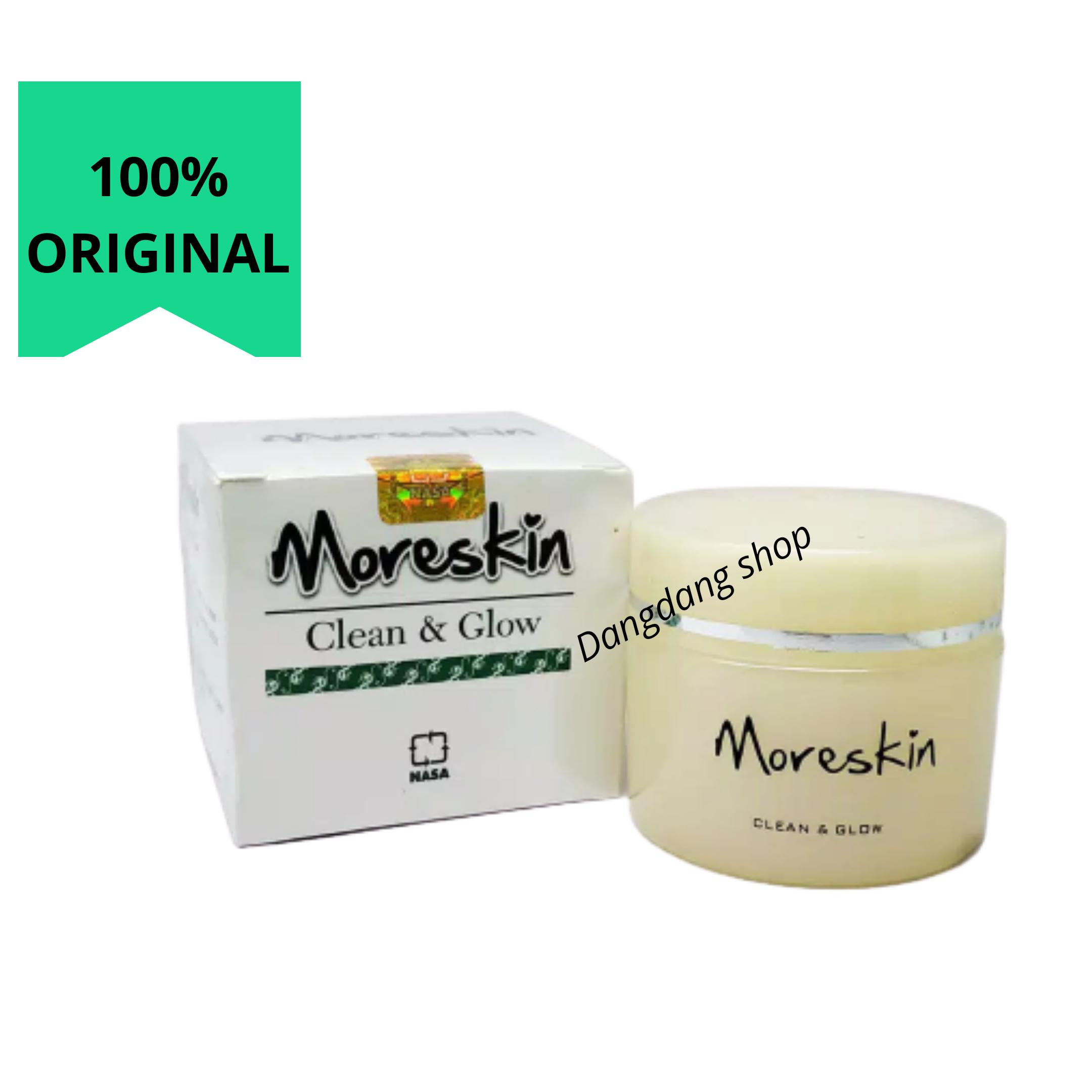 moreskin clean glow original kemasan