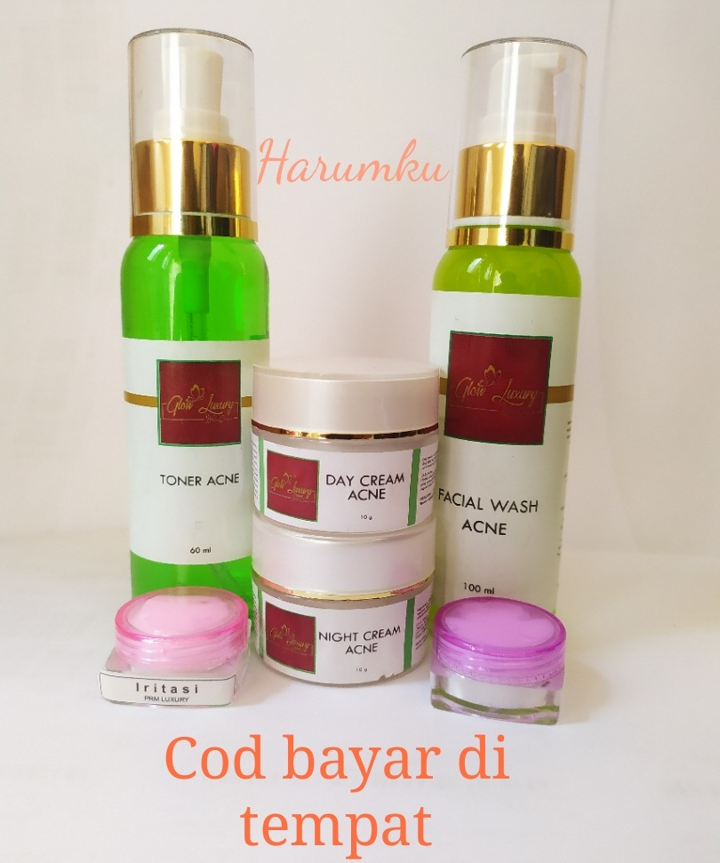paket luxuryglow luxury acne totol radang