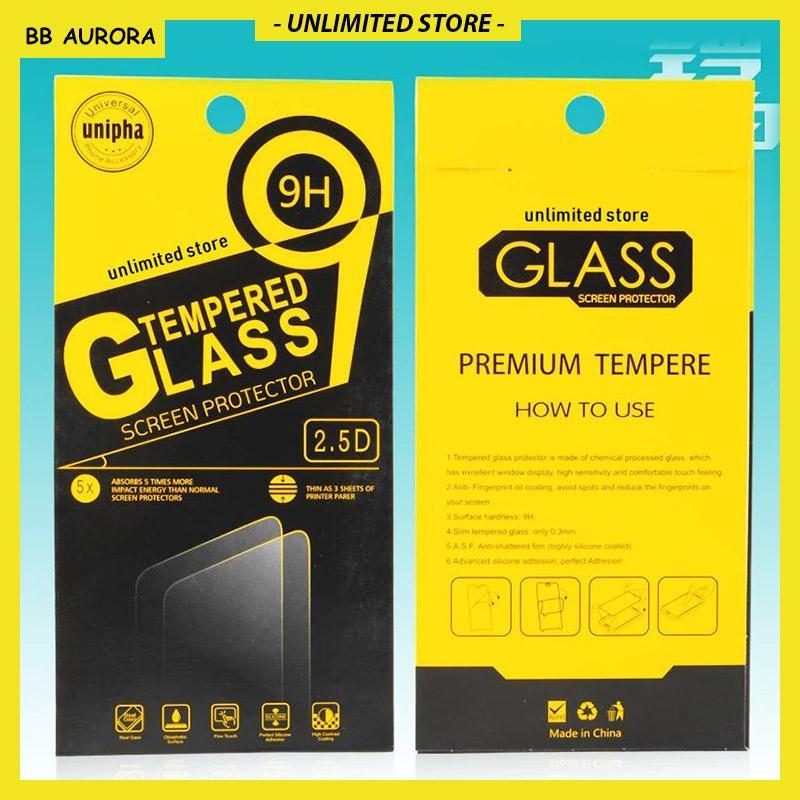 Blackberry BB Aurora Tempered Glass Screenguard Antigores Kaca - Transparan