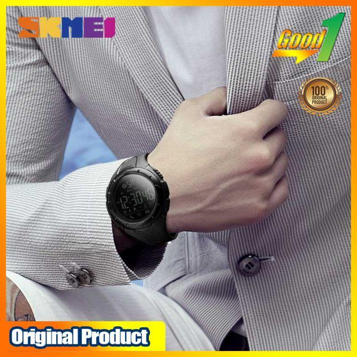 ... GO-u200 SKMEI Jam Tangan Olahraga Smartwatch Bluetooth 1326 Terlaris & Terbaru - 5