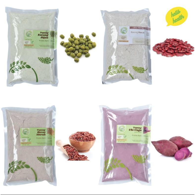 tepung beras coklat organik 500gr untuk bubur mpasi anak