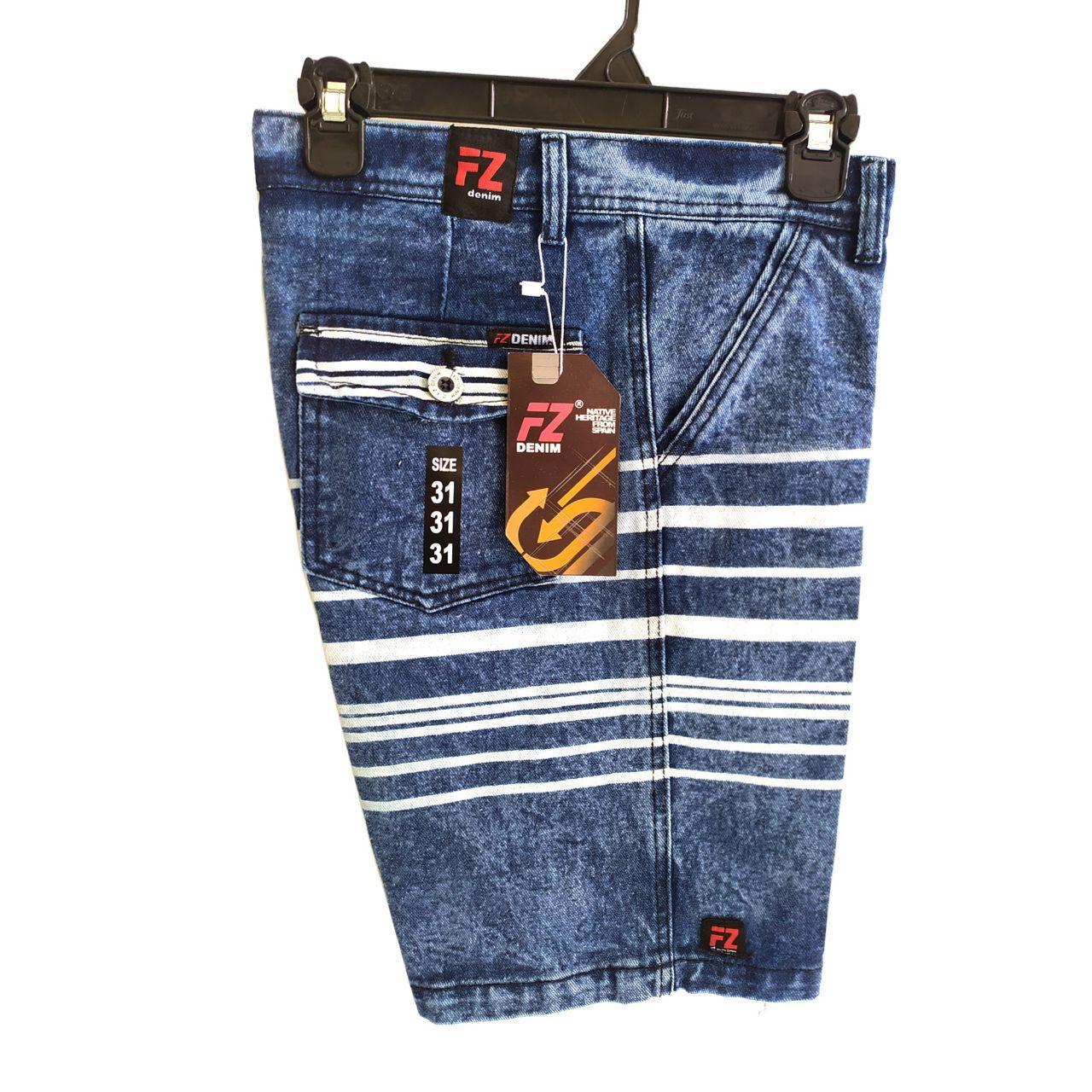 seroja store / celana pendek pria /  celana pendek jeans pria / snow wash / celana denim / celana pendek chinos jeans – reth denim