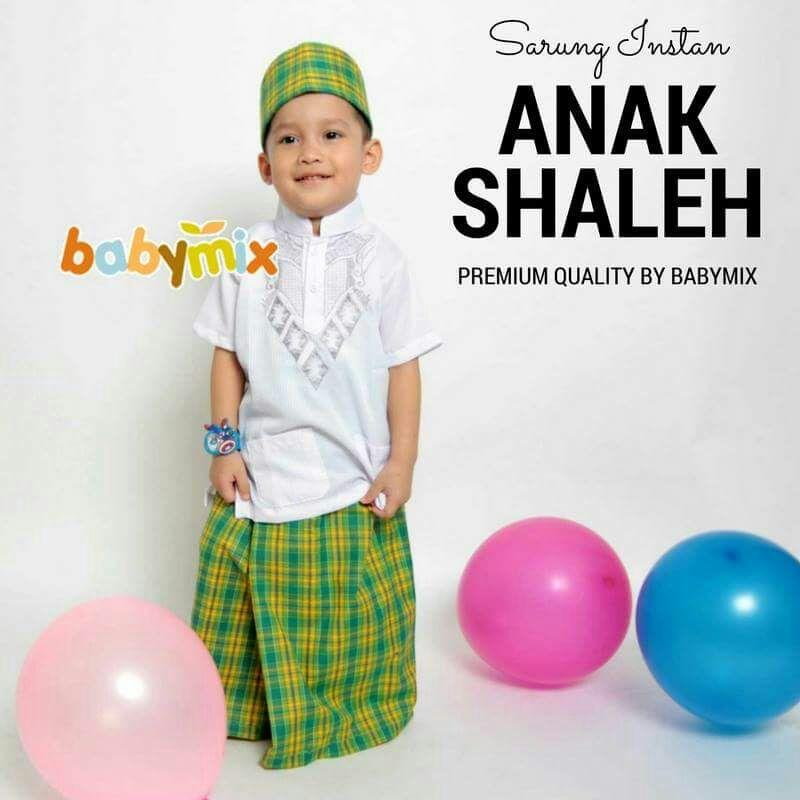 ... Babymix Sarung Anak Instant Kode Mix 3 Orange / Sarung Instan - 4