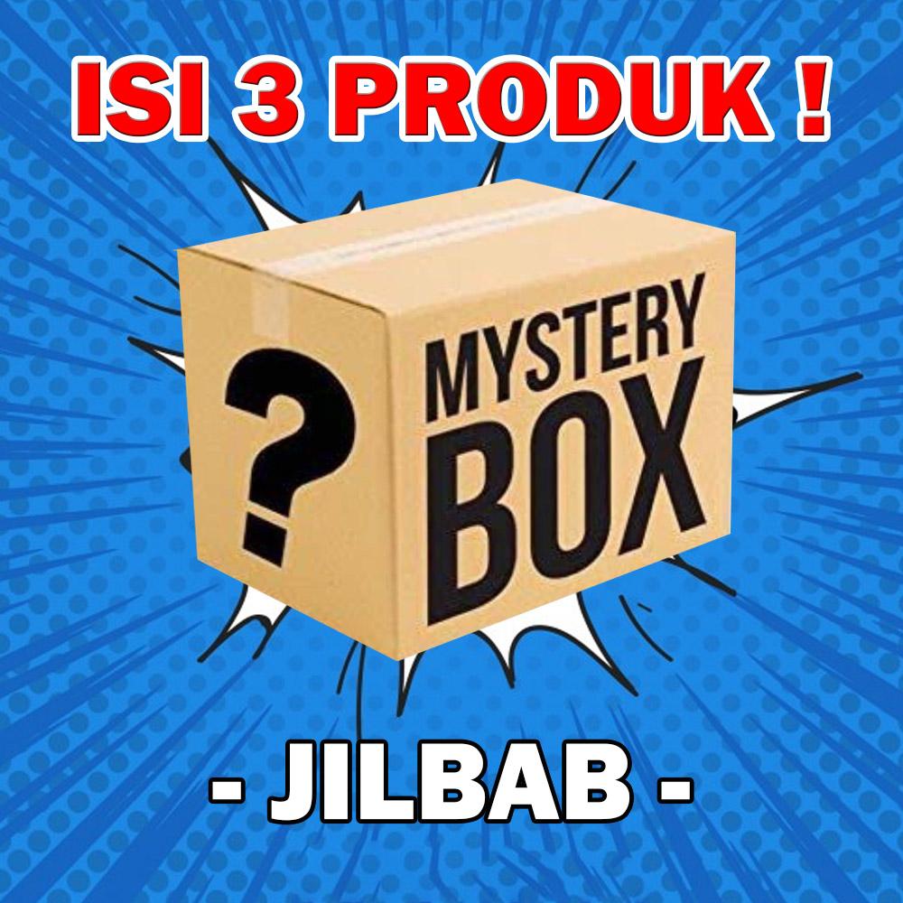 isi 3 pcs mistery box misteri bok jilbab dewasa jaket anak baju anak kaos anak rok anak baju muslim anak gamis anak