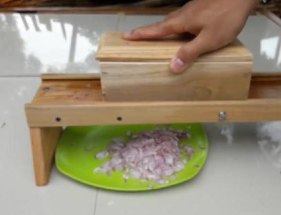 gb859 alat pemotong pengiris bawang serbaguna otomatis manual mini listrik kayu / gb859 garlic chopper pemotong bawang alat pengiris bawang