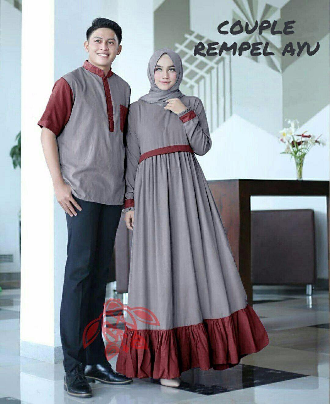 Review Gamis Muslim Kebaya Muslim Batik Couple Kencana Ayu Dan Harga