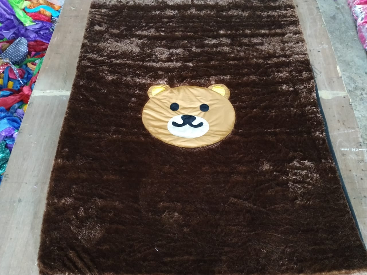 karpet bulu rasfur / kasur lantai bulu / kasur bulu karakter / surpet kasur empuk karakter  / karpet karakter  / karpet bulu / surpet karakter  ukuran 180x140x35cm (bantal 2 guling 1 ) bisa bayar tempat
