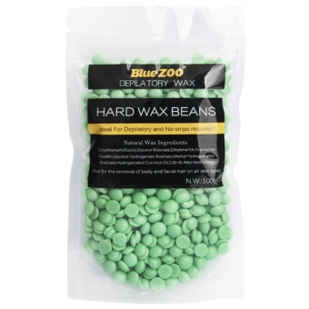 100 G/bag Tidak Strip Depilatory Lengan Leg Hair Removal Hard Wax Waxing Kacang-