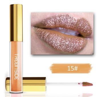 18 Warna Berlian Warna Lipstik Berkilau Lipstik Anti-Air Tahan Lama Tidak Lengket Lipstik-