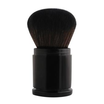 1 PC Portable Retractable Brush Powder Blush Brush (Hitam)-Intl