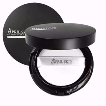 April Skin Magic Snow Cushion Black