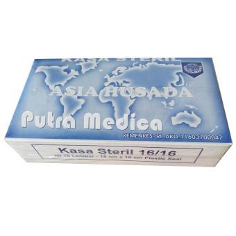 Asia Husada Kasa Steril Kotak with plastic seal