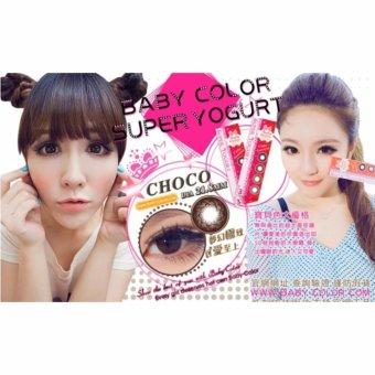 Baby Color - Super Yogurt Softlens - Choco + Gratis Lenscase .