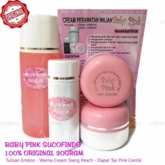 Baby Pink Cream Sucofindo Original Embos Cream Pemutih Wajah Racikan Dokter Whitening Muka Cantik Putih -