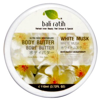 Bali Ratih - Body Butter 110ml - White Musk