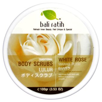 Bali Ratih - Body Scrub 110mL - White Rose