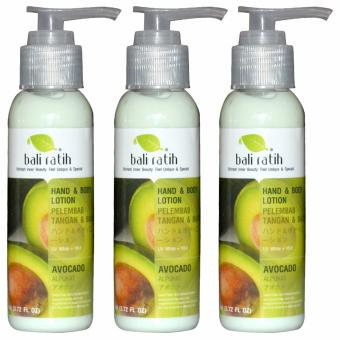 Bali Ratih - Paket Body Lotion 3 Pc - Avocado