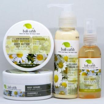 Bali Ratih - Paket Body Scrub, Body Butter, Body Lotion, Body Mist +