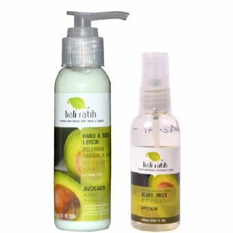 Bali Ratih Paket Duo - Avocado (Lotion&Mist)