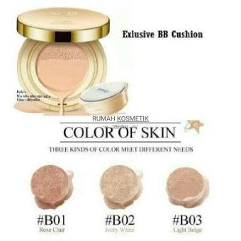BEDAK BIOAQUA BB CREAM CUSHION EXQUISITE & DELICATE / ORIGINAL / BPOM