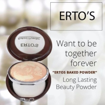 Bedak Ertos / Baked Powder Ertos- Flawless Makeup / ERTO'S - 1 pc