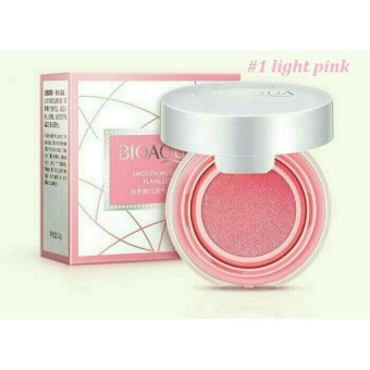Bioaqua Blush On Cushion Smooth Muscle Flawless#1-Light Pink