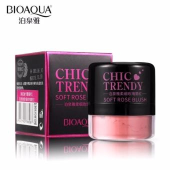 Bioaqua Chic pink blush on