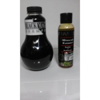 Black Magic Shampoo + Free BMKS Minyak Kemiri Penyubur dan Penghitam Rambut BPOM