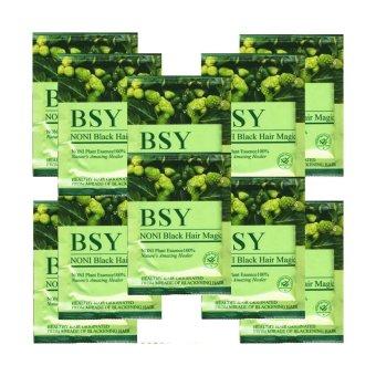 BSY Black Noni BeeStore - Black Hair Magic Shampoo Kemasan 10 Sachet