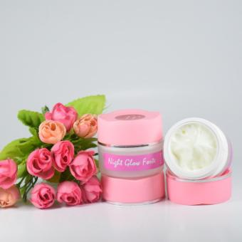 cream malam glowing super / krim malam glow forte / night cream glow