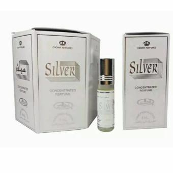 Crown Perfumes - Al-Rehab Silver - Kemasan Botol Roll On 6 Ml - AlRehab