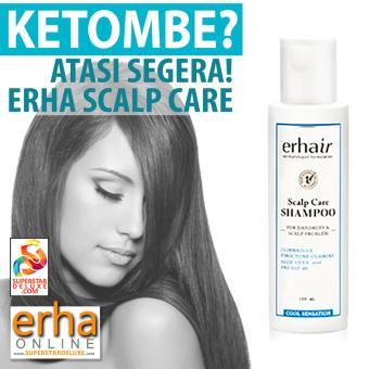 Erha Scalp Care Shampoo (sembuhkan ketombe) - 100ml