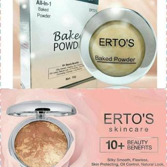 ERTO'S - ERTOS Baked Powder all in 1 - Bedak Erto's