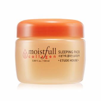 Etude House Moistfull Collagen Sleeping Pack Anti Aging Masker Wajah - 100ml