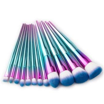 Foundation Brush Make Up Kit Face Blush-Intl