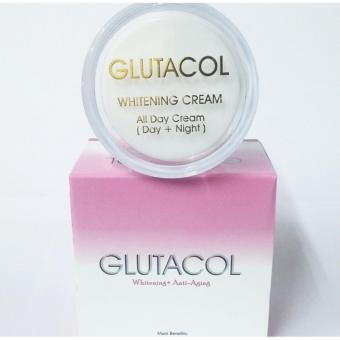Glutacol Whitening Cream Anti Penuaan Dini | Magic Plus Vonvon Gold Moel Rizette