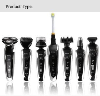 HAIR CLIPPER KEMEI KM 8867 WASHABLE TRIMMER CUKUR RAMBUT MULTIFUNGSI